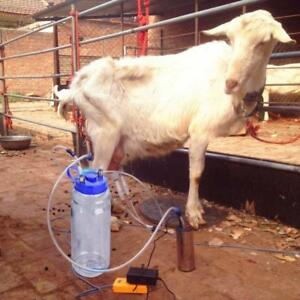 Portable Electric Milking Machine Cow Goat Big Suction Capacity Milking Machine