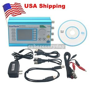 Fy2300h Function Arbitrary Waveform Generator 25mhz Dual Channel Signal Dds Usa