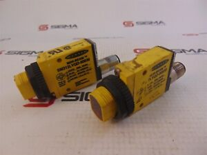 Banner Sm312lvqd 50939 Ez beam Photosensor Receiver lot Of 2