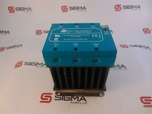 Red Lions Controls Rly70000 Solid State Relay 3 Phase 30 Amp 48 660vac
