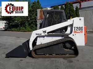 Bobcat T200 Track Skid Steer Loader Auxiliary Hydraulics High Flow