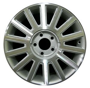 17 Lincoln Town Car 2003 2004 2005 Factory Oem Rim Wheel 3504 Silver Machined