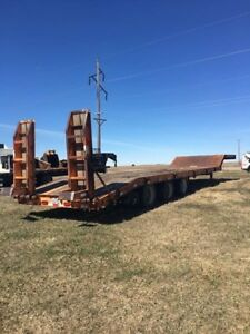 Lowboy Trailer 2007 Kaufman R35ton Good Condition