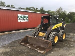 2006 New Holland L190 Skid Steer Loader W Weight Kit