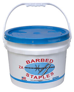 Bekaert 187260 8 gauge Fence Staples 1 75 in 50 lb Bucket