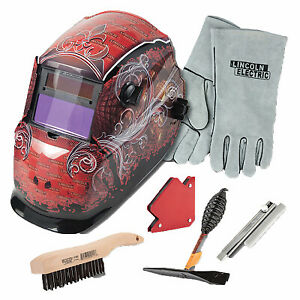 Lincoln Electric Kh961 Auto darkening Welding Helmet Kit