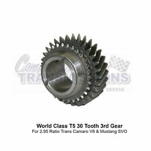 T5 Wc 3rd Gear 2 95 Ratio 30 Tooth Camaro V8 Mustang Svo 1352 083 002 New