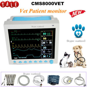 Veterinary Icu Vital Signs Patient Monitor 6 Parameters contec Cms8000vet Sale