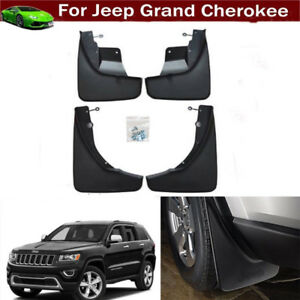Oem Front Rear Molded Splash Guard Mud Flaps 4pc For 11 18 Jeep Grand Cherokee