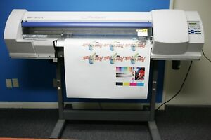 Roland Versacamm Sp 300v Wide Solvent Printer print Cut