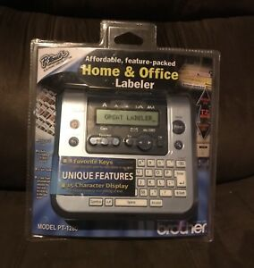 Brother Pt 1280 P touch Electronic Labeling System Pt1280 Printer Brand New