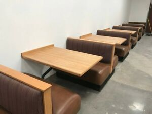 Commercial Grade Restaurant Booths And Tables Seating For 60 210