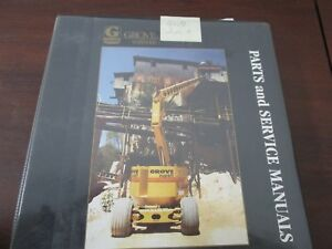 Parts And Service Manuals Grove Worldwide Super Maxx Lift