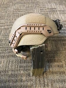 TBH-II MICH 2002 Gunfighter helmet Mid Cut Wilcox G05 Ops Core Lg Large