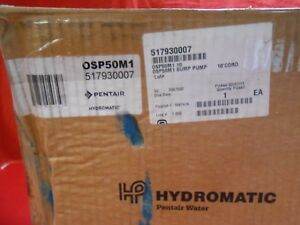 Hydromatic Submersible Pumps Osp50m1 115v 1 2hp
