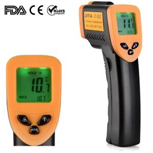 Non contact Infrared Thermometer Jvtia Classic Digital Laser Temperature Gun 5