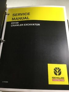 New Holland Eh130 Excavator Service Manual