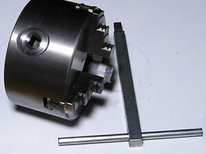 Brake Lathe Adapter 4 3 Jaw Chuck Will Fit 1 Arbor