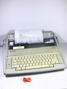 Brother Gx 6750 Daisy Wheel Correctronic Electronic Typewriter free Shipping