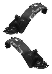 New Front Driver Passenger Side Fender Liner Set For 1992 1995 Honda Civic