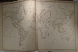 Map Of The World On Mercator S Projection