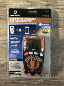 Southwire Digital 600 volt Multimeter Connect Via Bluetooth With Built in Light