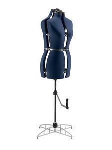 Adjustable Sewing Dress Form Mannequin Full Figured Small Medium Size Women