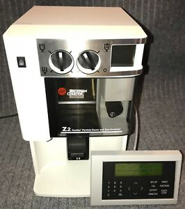 Beckman Coulter Z2 Particle Counter Size Analyzer With Keyboard warranty