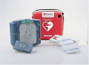 Philips Heartstart Defibrillator Aed Model m5068a Factory Sealed New