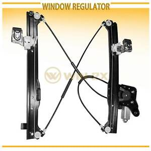Rear Right Power Window Regulator W Motor Fit Chevy Gmc Cadillac Suv