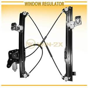 Rear Left Power Window Regulator W Motor Fit Chevy Gmc Cadillac Suv