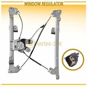 Front Left Power Window Regulator W Motor Fit 04 08 F150 Reg Crew Cab