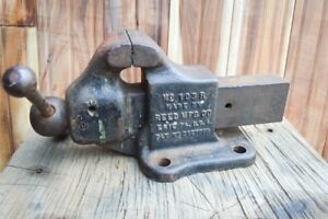 Reed 103r Bench Vise Great Condition
