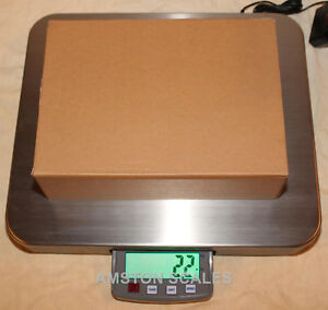 200 X 0 05 Lb Shipping Scale 14 X 16 Steel Tray Postal Postage Compact Portable