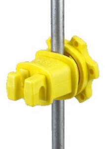 Western rp 25 Electric Fence Insulator Western Round Fiberglass T post