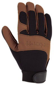 Gordini Usa A659blkbly M Dex Ii Work Gloves Genuine Leather Spandex Medium
