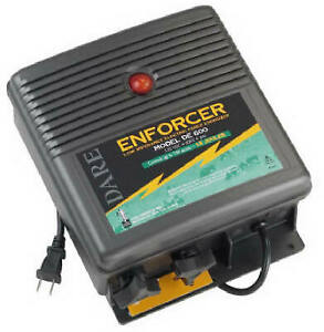 Dare De 600 Electric Fence Charger 150 acre Low Impedance Plug in 110 volt