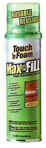 Convenience Prod 7565031612 Touch n Foam Max Fill Sealant Triple Expanding