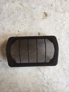 Porsche 944 Early Dash Speaker Cover Brown