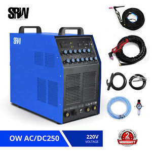 Ow Ac dc250 5 In 1 Dc Wig tig puls ac Wig Alu Mma Arc plasma Cut Accessories