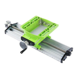 Compound Milling Machine Cross Sliding Work Table Vise Diy Lathe Bench Drill