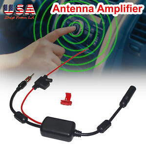 Ant 208 Car Fm Am Radio Signal Antenna Signal Amplifier Enhancement Booster