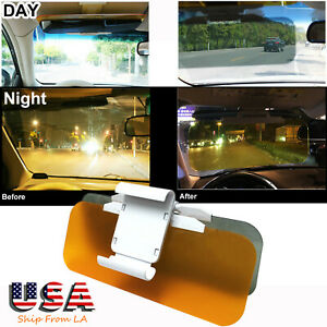 Day Night Hd Car Sun Visor Auto Sunshade Anti Glare Uv Block Driving Vision
