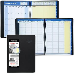 2019 At a glance 76 950 05 Quicknotes Weekly Monthly Planner 8 1 4 X 10 7 8
