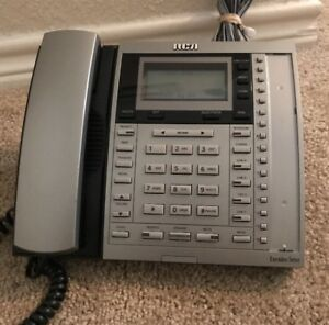 Rca Executive Series Business 4 Line Office Phone Model 25415re3 a