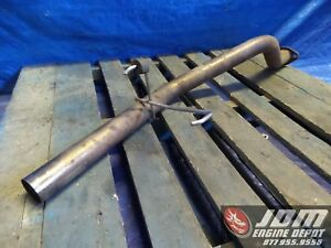 94 01 Honda Acura Dc2 Integra 2 5inch Zero Fighter Axle Back Exhaust Jdm B18c