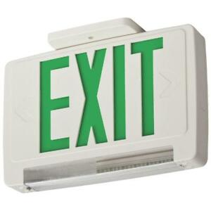 Lithonia Lighting Thermoplastic Led Integrated Emergency Exit Sign fixture Unit