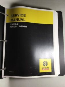 New Holland Lw230 b Wheel Loader Service Manual
