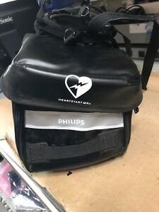 Philips Heartstart Mrx Carry Case Bag black Soft Includes Pouch