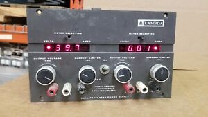 Lambda Lqd 422 Regulated Power Supply 0 40v 0 1a Good